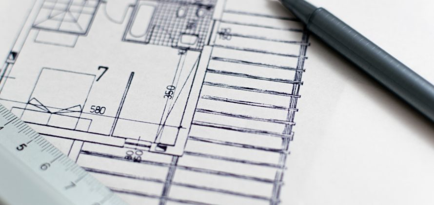 Design av bygning