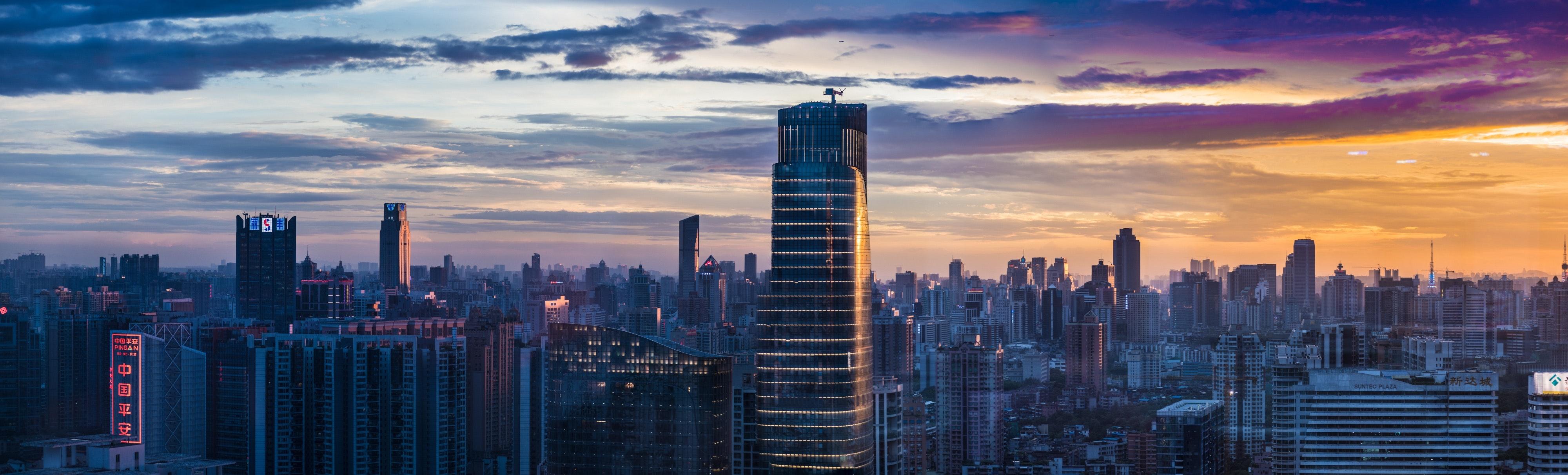 En stor by